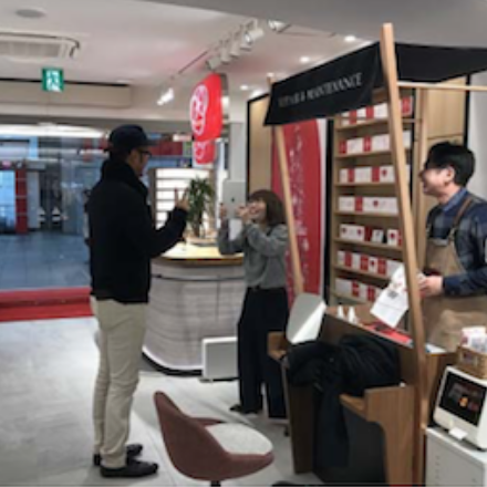 CSV活動『メガネの田中スマイル・アクト』プロジェクト 40,000いいね突破!